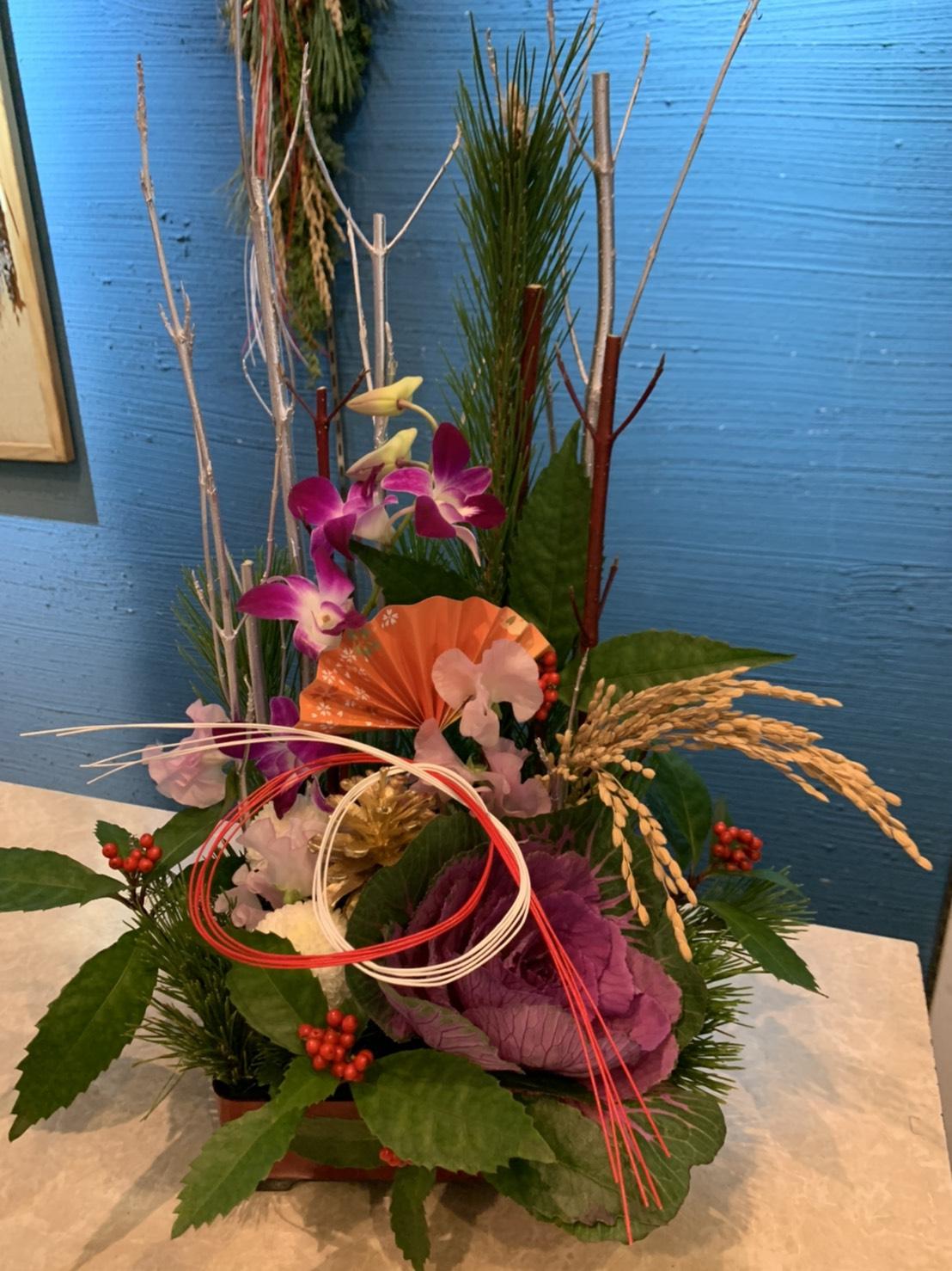お正月(迎春)の花