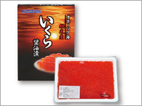 北海道網走産こだわりすぎたイクラ醤油漬 約250g