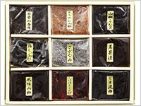 【お徳用】今日佃煮詰合わせ9種 約385g