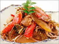 【お刺身用】 北海道産 紅ずわいがに脚肉むき身 約1kg