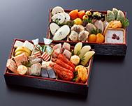 北海道函館「花びし」監修和洋二段重 絢珠