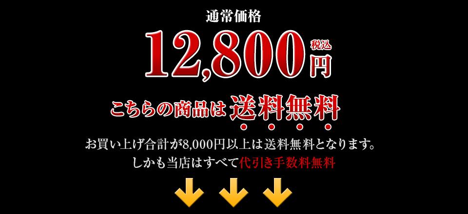 通常料金12,800円